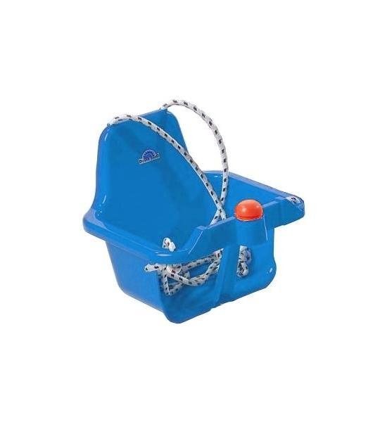 Houpačka s pískátkem modrá, Modrá