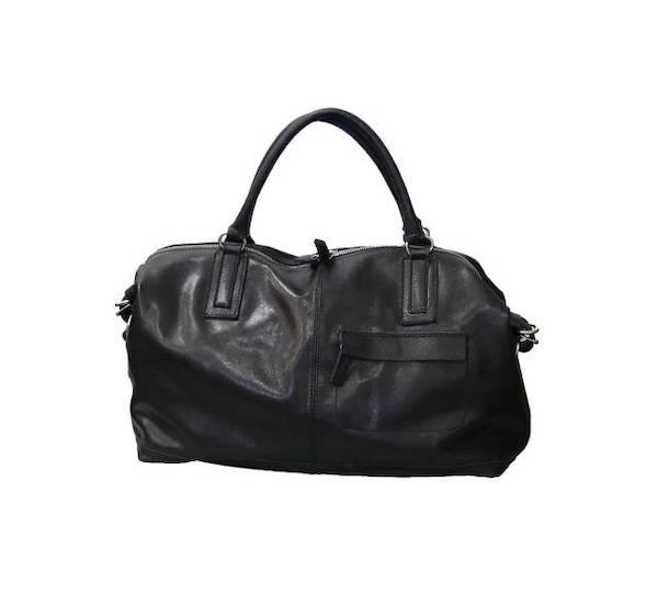 Malá luxusní cestovní taška Elega Aron černá