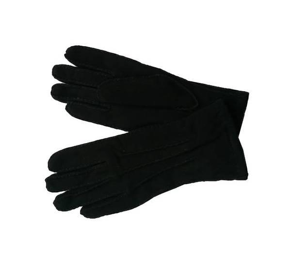 Dámské rukavice z broušené kůže Rikin černá