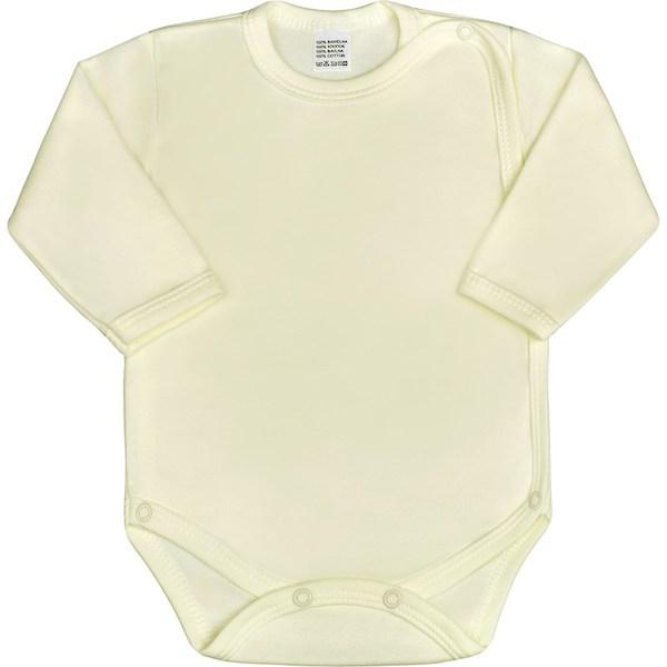 Kojenecké body celorozepínací New Baby Classic zelené, vel. 50, Béžová
