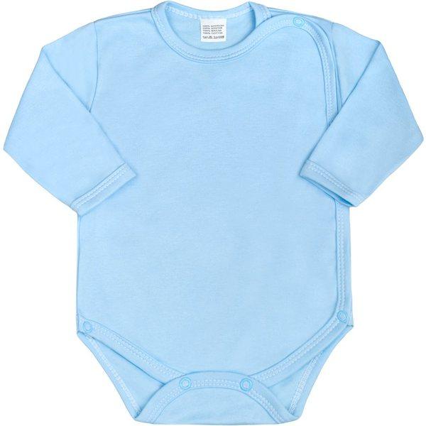 Kojenecké body celorozepínací New Baby Classic zelené, vel. 50, Modrá