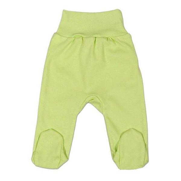 Kojenecké polodupačky New Baby bílé, vel. 86 (12-18m), Zelená