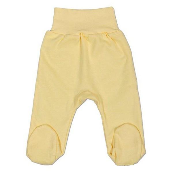 Kojenecké polodupačky New Baby bílé, vel. 86 (12-18m), Žlutá