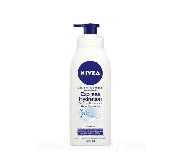 Nivea Lehké tělové mléko Express Hydration, vel. 400 ml