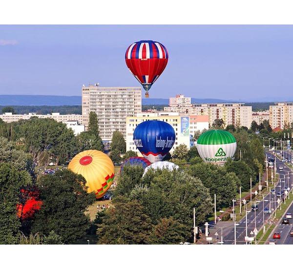Let balónem pro čtyři osoby, vel. 60 minut