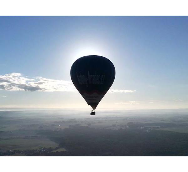 Let balónem pro dvě osoby, vel. 60 minut