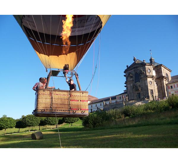 Let balónem pro pět osob, vel. 60 minut