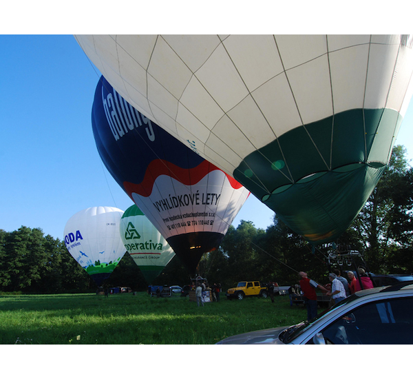 Let balónem pro šest osob, vel. 60 minut