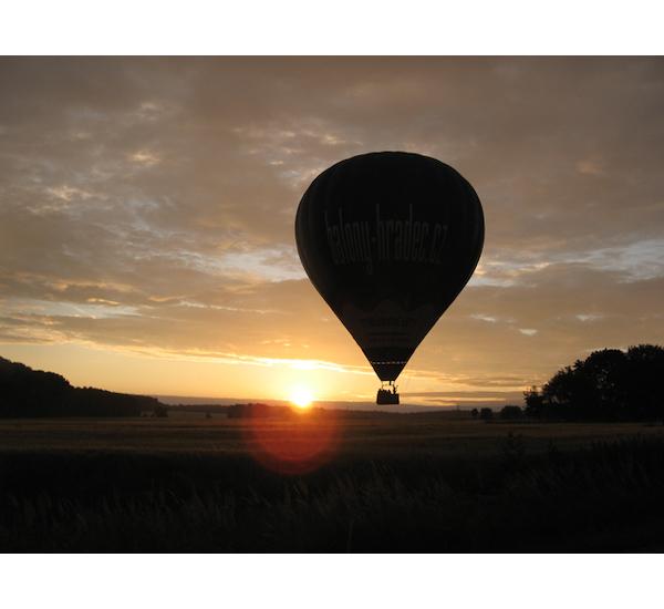 Let balónem pro tři osoby, vel. 60 minut