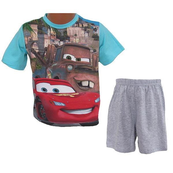 Letní komplet (pyžamo) Cars (QE2109), vel. 98, sv. modrá