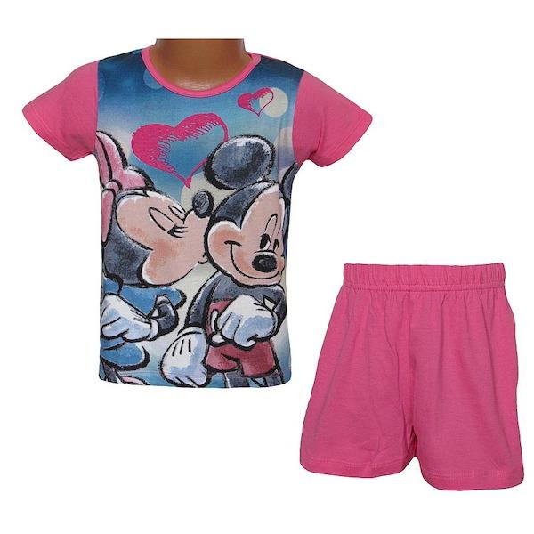 Letní komplet, pyžamo Minnie (QE2078), vel. 116, Růžová