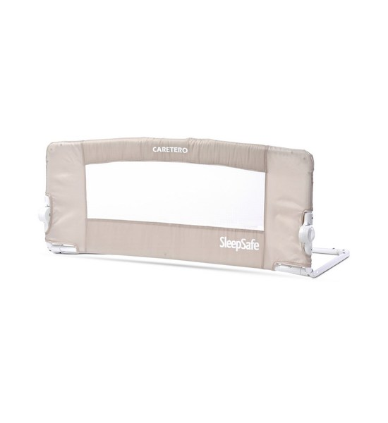 Mantinel do postýlky CARETERO SleepSafe grey, Hnědá