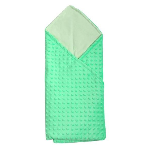 Multifunkční dětská deka 2v1 New Baby modrá, Zelená
