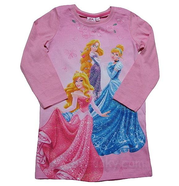 Noční košile Princess (HM2246), vel. 98, Růžová