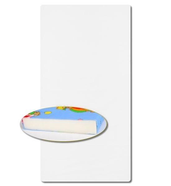 Dětská pěnová matrace růžová - různé obrázky, Bílá