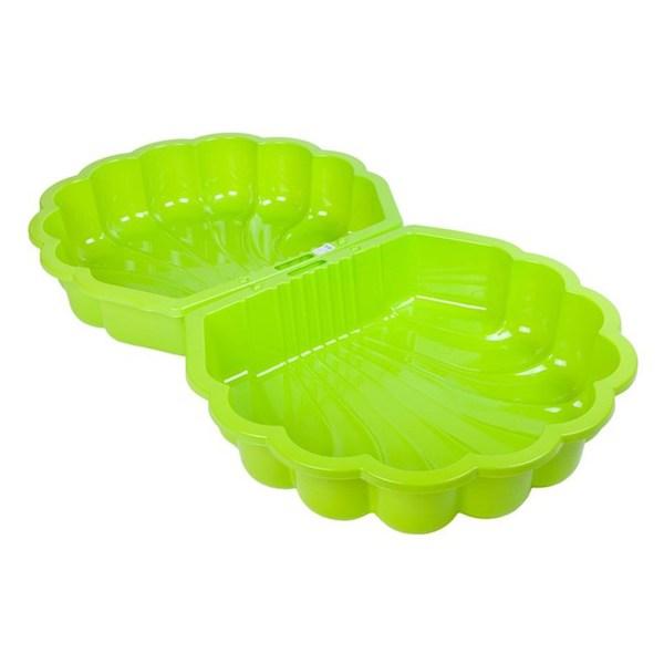Pískoviště-bazének Mušle - 2 ks světle zelené, Světle zelená