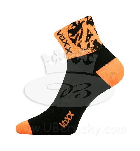 Ponožky cyklo Ralf Voxx, vel. 35-38, oranžová