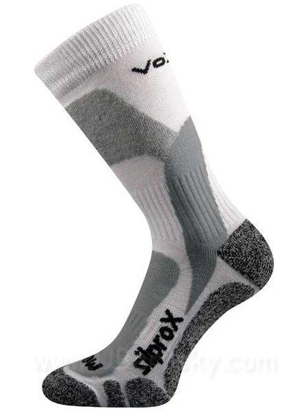 Ponožky Ero snow Voxx, vel. 43-46, Bílá