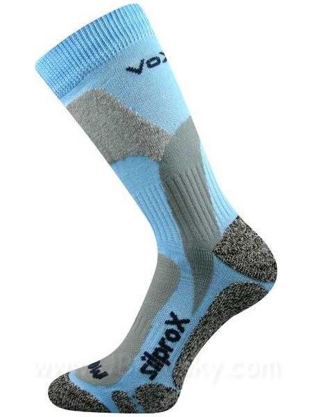 VoXX ponožky Ero Snow zimní světle modrá