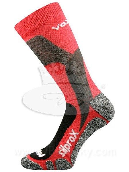 Ponožky Ero snow Voxx, vel. 43-46, Červená