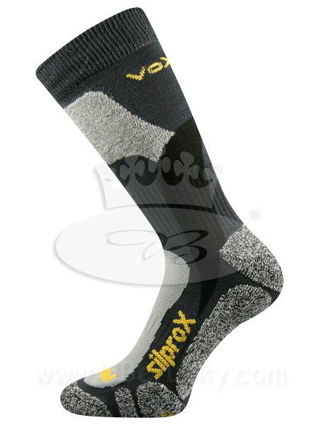 Ponožky Ero snow Voxx, vel. 43-46, tm. šedá