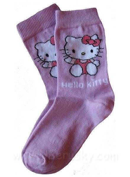 Ponožky Hello Kitty, vel. 31-34, Lila