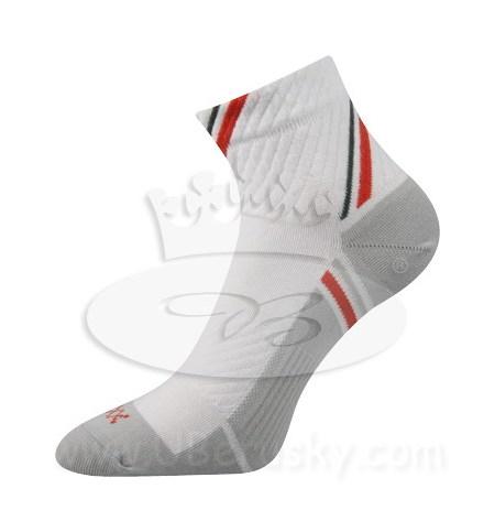 Ponožky Pius Voxx, vel. 35-38, Bílá