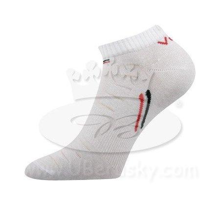 Ponožky Rex Voxx, vel. 43-46, Bílá