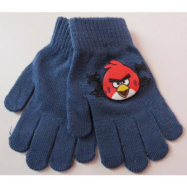 Prstové rukavice Angry birds, vel. 3-6 let, Modrá