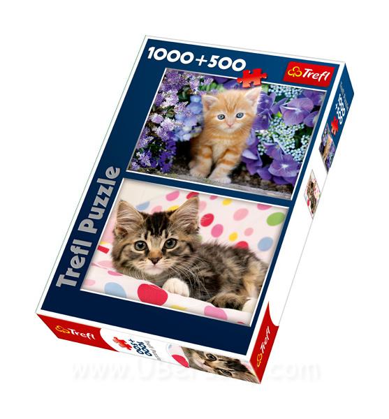 Trefl Puzzle Kočky 1000 dílků