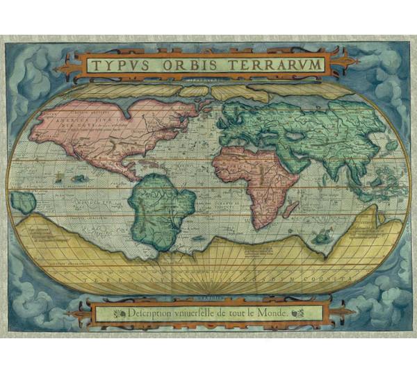 Zdeko (Trefl) Puzzle Mapa světa 1500 dílků