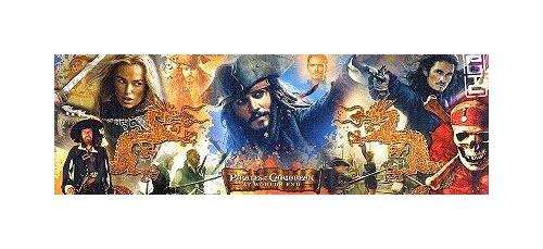 Clementoni Puzzle Piráti z Karibiku 1000 dílků