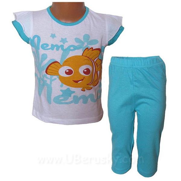 Pyžamo, letní komplet Nemo (Ha1066), vel. 98, sv. modrá