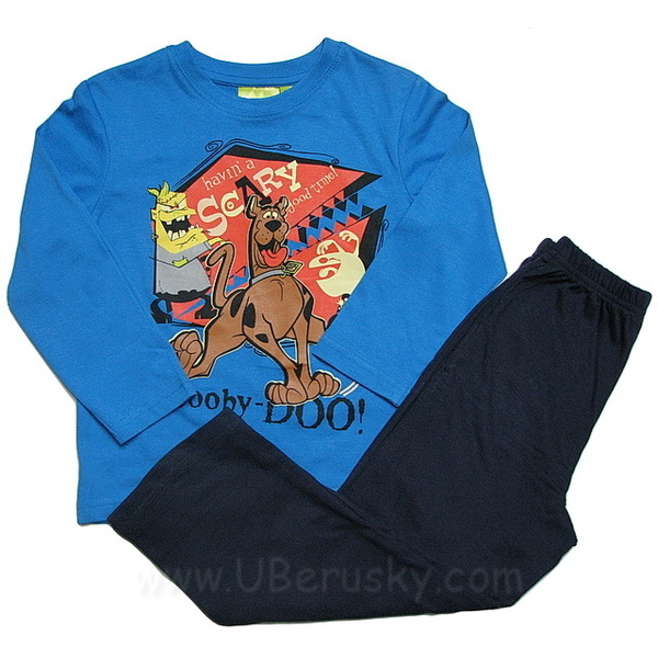 Pyžamo Scooby Doo (OE2144), vel. 98, Modrá