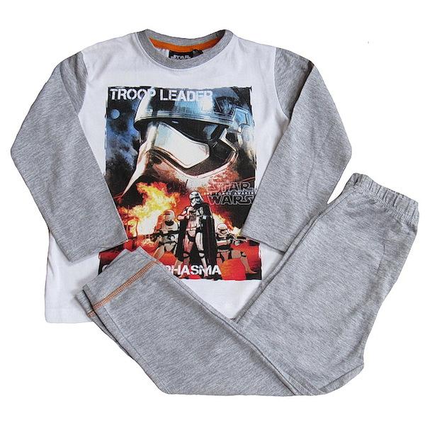Pyžamo Star Wars (PH2255), vel. 116, šedo-bílá