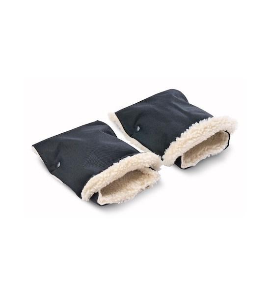Rukávník na kočárek 2 ks Sensillo 45x21 black, černá