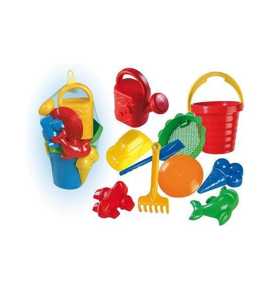 Sada hraček do písku - 10 ks, Dle obrázku