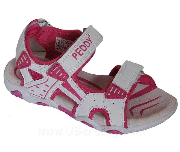Sandále Peddy PU5123409, vel. 29, Bílá