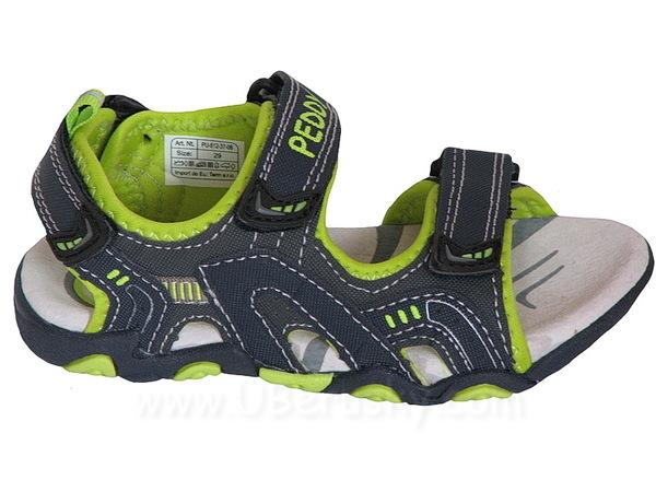 Sandále Peddy PU5123708, vel. 32, modro-zelená