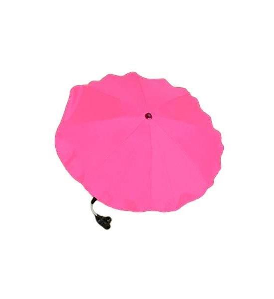 Slunečník na kočárek měděný, Růžová