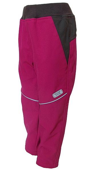 Sofshellové kalhoty Wolf (B2684), vel. 86, Růžová