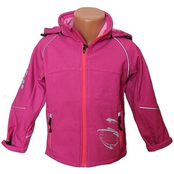 Softshellová bunda Kugo (S2611a), vel. 104, Růžová