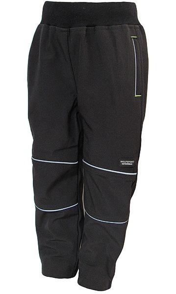 Softshellové kalhoty Wolf (B2783), vel. 98, černá