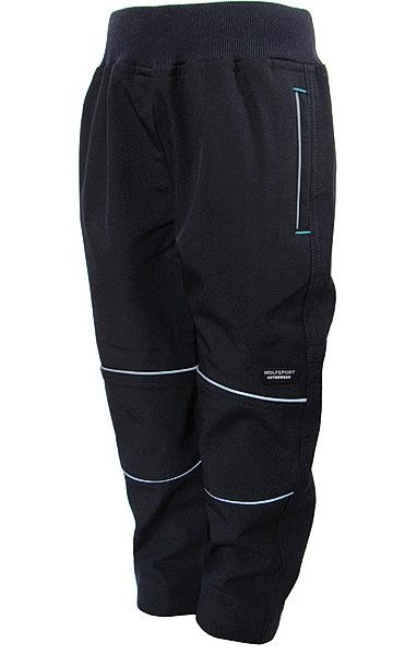 Softshellové kalhoty Wolf (B2783), vel. 98, tm. modrá