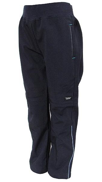 Softshellové kalhoty Wolf (B2784), vel. 128, tm. modrá