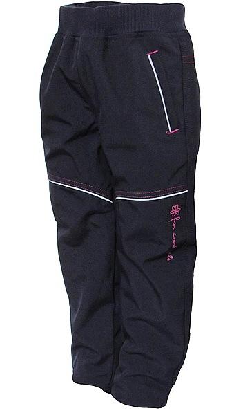Softshellové kalhoty Wolf dívčí (B2781), vel. 98, tm. modrá
