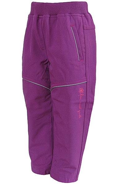 Softshellové kalhoty Wolf dívčí (B2781), vel. 86, vínová