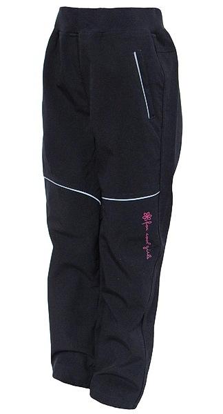 Softshellové kalhoty Wolf dívčí (B2782), vel. 140, tm. modrá