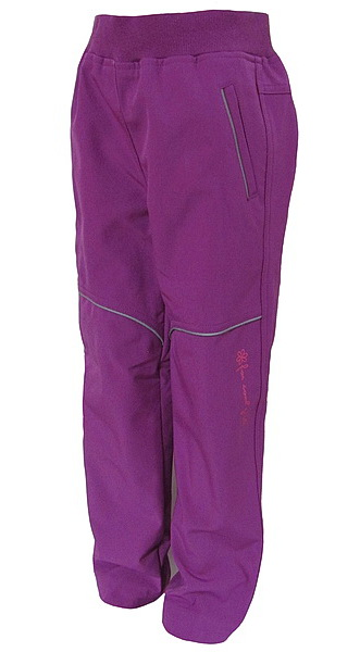 Softshellové kalhoty Wolf dívčí (B2782), vel. 134, vínová