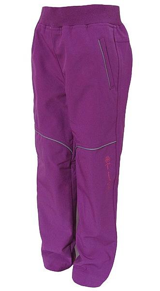 Softshellové kalhoty Wolf dívčí (B2782), vel. 146, vínová